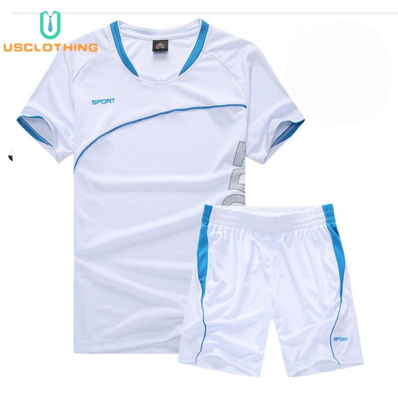 0cdc31d3f 2 piezas nuevos conjuntos de camiseta de chándal Casual para hombre +  Pantalones cortos camisetas de ropa deportiva conjuntos de sudadera de  playa ...