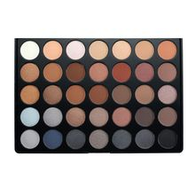35 Colors Eyeshadow Palette Earth Warm Color Shimmer Matte Eye Shadow Cosmetic Beauty Makeup Set 30M2