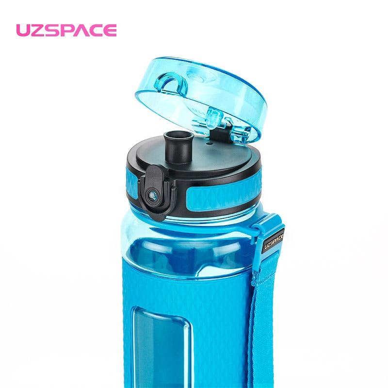 Xüsusi təklif Uzspace Protein Shaker Diamond Ion Plastik Su - Mətbəx, yemək otağı və barı - Fotoqrafiya 3