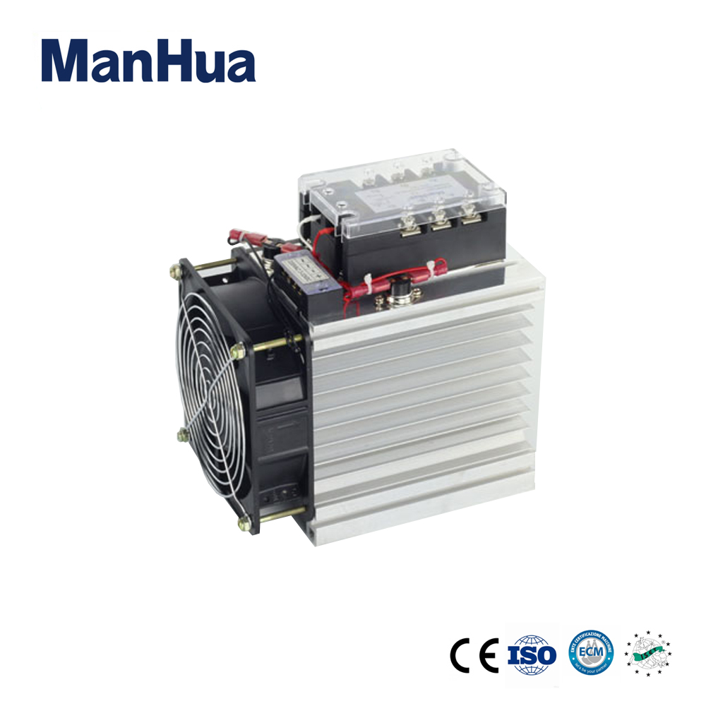 Manhua Three Phase DC control AC 3-32VDC 120A Solid State Relay/SSR Relay With CE