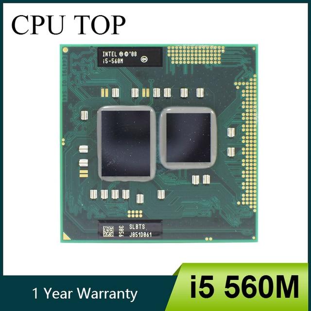 Intel Core i5 560 M 2.66 GHz Dual-Core PGA988 SLBTS CPU Di Động