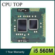 Intel Core i5 Dual-Core, 560M 2.66 GHz Processador Dual-Core PGA988 SLBTS para CPU móvel