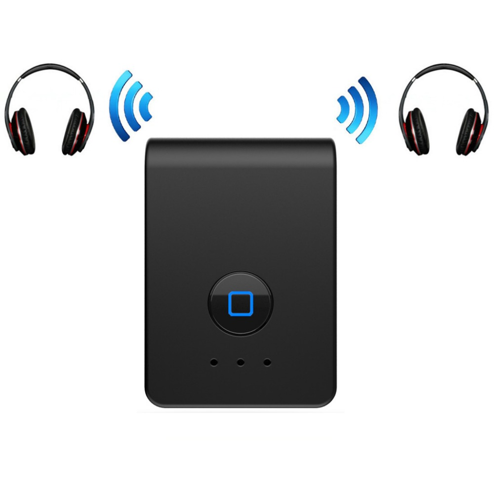2 In 1 Bluetooth Wireless Transmitter font b Receiver b font 3 5mm Stereo Audio Adapter