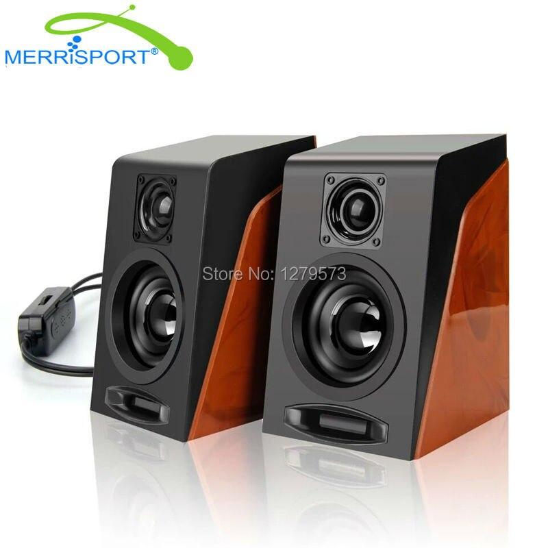 Powered 2.0 Speakers, 3.5mm USB Multimeds