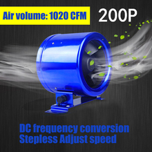 1PC 8 cun Quiet. Duct Fan Speed Controller – Exhaust Blower Six Inch powerful Frequency Exhaust Fan 50W 110V/220V