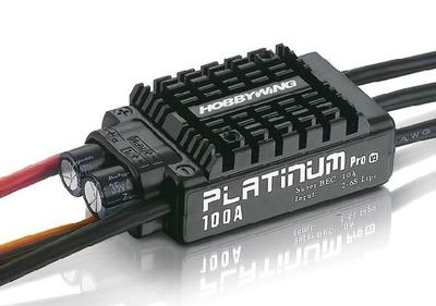 ФОТО 100% quality hobbywing platinum 100a v3 rc model brushless esc for multicopter for 480-550 class (helis)