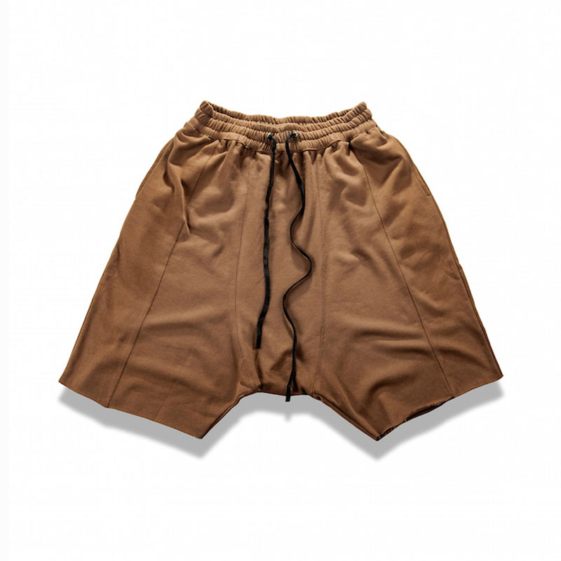 Hip Hop Raw Edges Wild Man Cozy Shorts 4