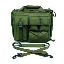 OD Green 15 «Тактический Военный Ноутбук Сумка для Ноутбука Сумки На Ремне Чехол Портфель Для Ноутбука Сумка