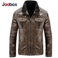 New arrive Europe Size large size Leather Jacket men Brand Male Bomber Motorcycle Biker Men's Coat jaqueta de couro masculina