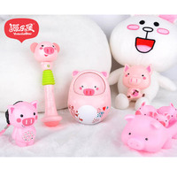 5pcs Baby Baby Toy Rattle Rattle Bell Toy Doll Gift Newborn Infant Early Education
