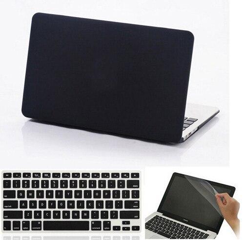 Crystal Clear Матовый Прорезиненные Твердый Переплет Чехол Для Macbook Air 11 13 Pro 13 15 Retina 12 13 15 дюймов сумка Для Ноутбука