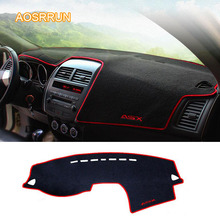 AOSRRUN The dashboard mat is shielded from the pad by the pad Car accessories cover For Mitsubishi ASX 2018