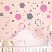 ZN Polka Dots Wall stickers wall decals DIY Vinyl home decor for kids room nursery Art Mural