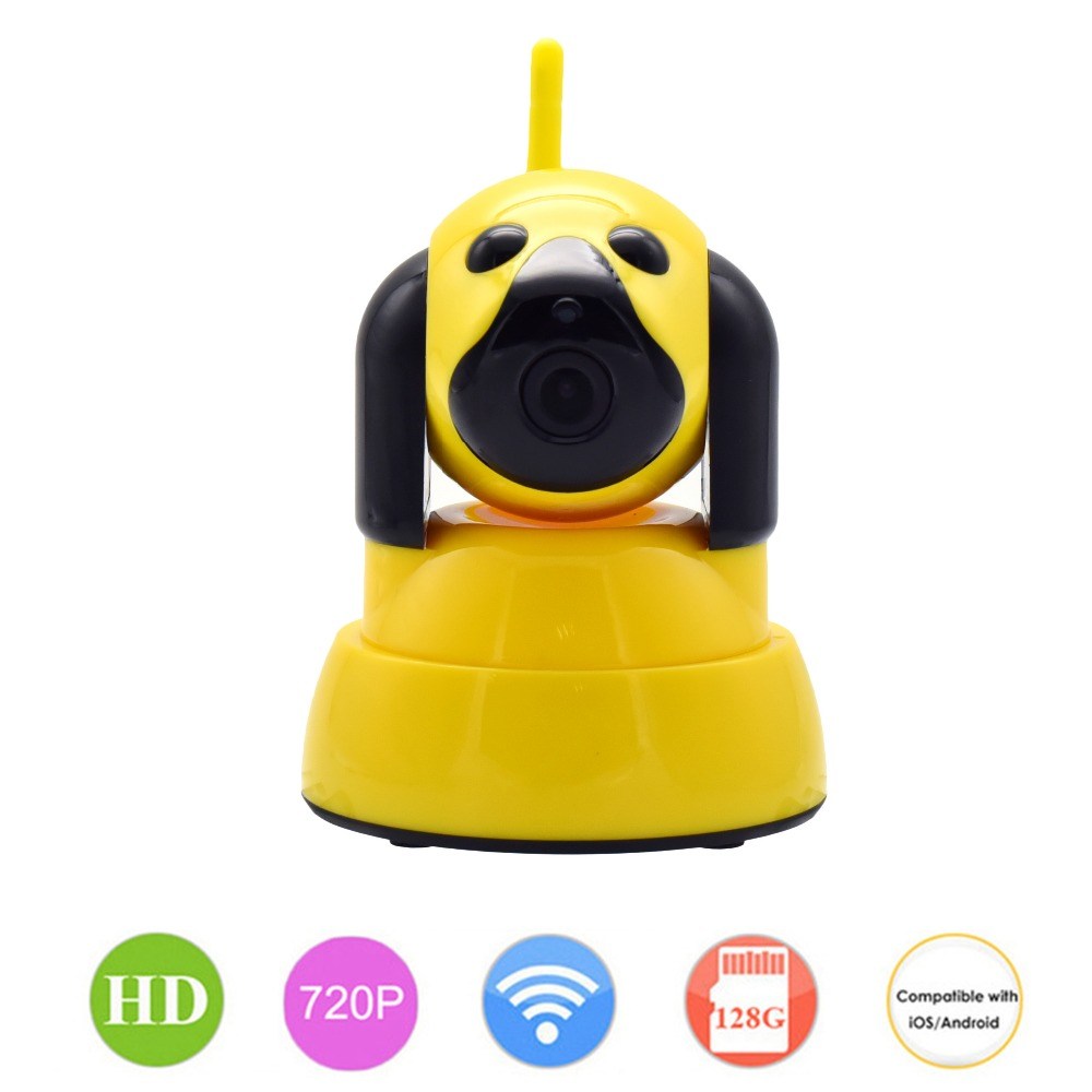 720P WIFI Baby Monitor Security IP Camera 1MP For Smart Home Dog Cam CCTV Mini Wi-Fi Video Camera Wireless Indoor Alarm PTZ P2P indoor plastic mini sony322 2441h 1080p 2mp ahd camera for home security baby monitor shops buses