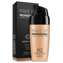 laikou Full Cover Liquid Foundation Makeup Face Base Long Lasting Concealer Primer BB Cream Make Up Cosmetics 50ml