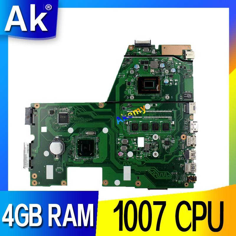 X551CA Motherboard For Laptop ASUS X551CA X551CAP X551C X551 F551C F551CA Tests Original Motherboard 1007 CPU 4GB RAM