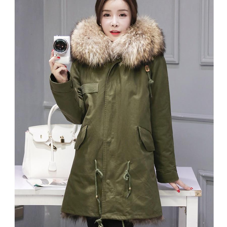 """""""HIgh"""" šaltos žieminės aprangos 2016 m. Naujos natūralios - Moteriški drabužiai - Nuotrauka 1"""