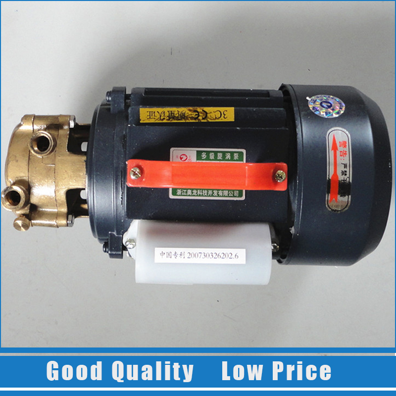 1/4 W-380V Booster Water Pump Water Circulation Centrifugal Pump High Pressure Pump 220v cast iron self suction centrifugal pump home use booster pump 1zdb 45