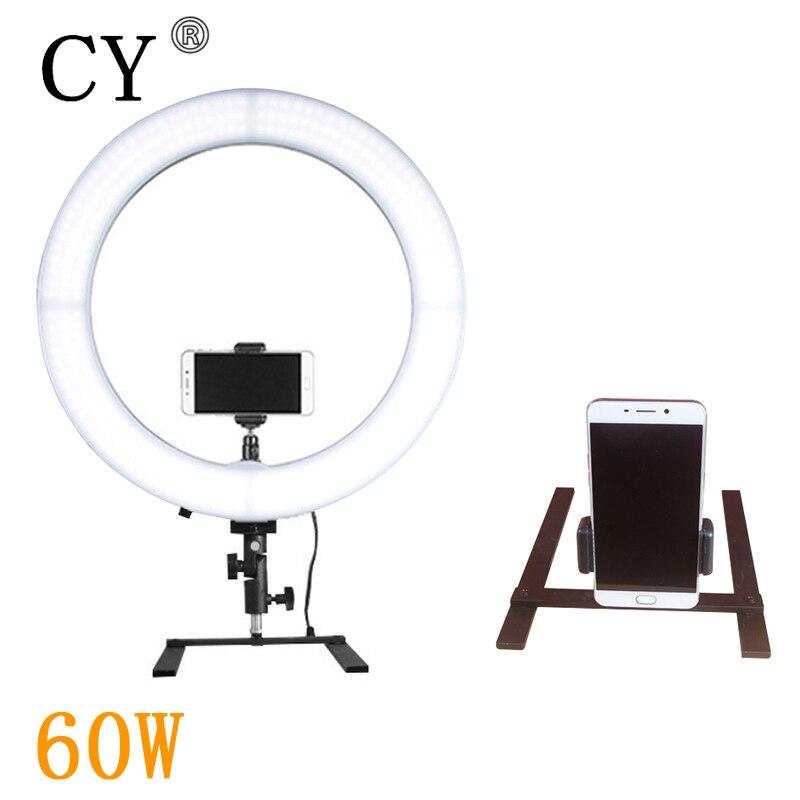 Photography LED Ring Light 60W LED Ring Lamp Video Light for Fotografia Selfie Fill-in Light/Make Beauty/Live Show
