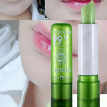 Aloe Vera Lipstick Color Changing lip balm Long Lasting Color hygienic Moisturizing Lipstick Anti Aging Makeup natural Lip balm