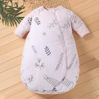 Long Sleeve Baby Sleeping Bag Newborn Baby Sleep Sack 0 2 Years Baby Sleeper