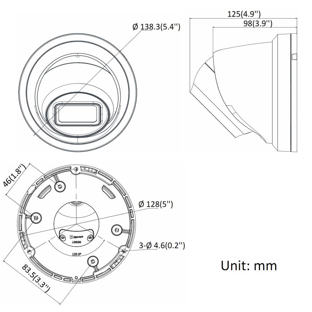 Hikvision оригинальная DS 2CD2385G1 I 8MP IP купольная камера безопасности H.265 HD CCTV POE WDR камера распознавание лица Питание от Darkfighter - 4