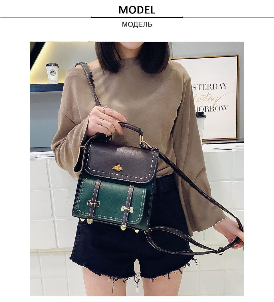 HTB1sZBdEeOSBuNjy0Fdq6zDnVXa0 CASMOR Vintage Backpacks Women Classic Old School For Girls Fashion School bag PU Leather High Quality College Backpack