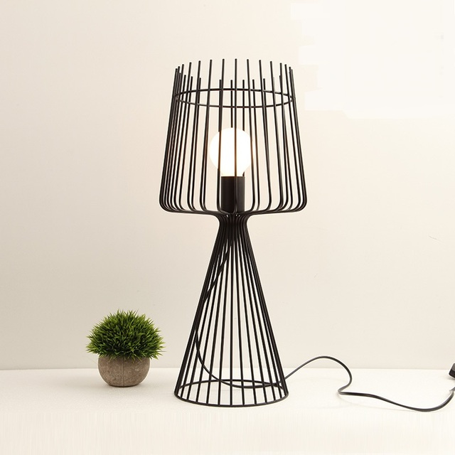 Table lamps italian style art desk lamp wire nordic iron restaurant table lamps italian style art desk lamp wire nordic iron restaurant tea shop bar living room greentooth Choice Image