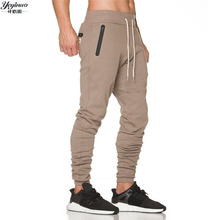 YEYINUA Männer sportbekleidung Hosen Beiläufige Elastische baumwolle Herren Fitness Workout Hosen dünne Sweatpants Hose Jogger marke Hosen