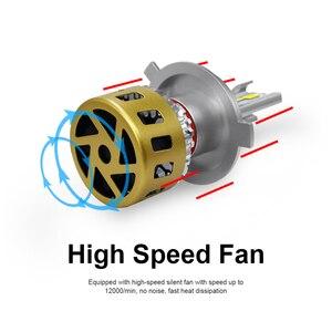 Image 3 - LSlight LED Scheinwerfer H7 H4 H11 H1 9006 HB2 HB4 H8 H9 LED Auto Birne 3000K 4300K 6000K 9600LM 72W 12V 24V Auto Licht Ampulle