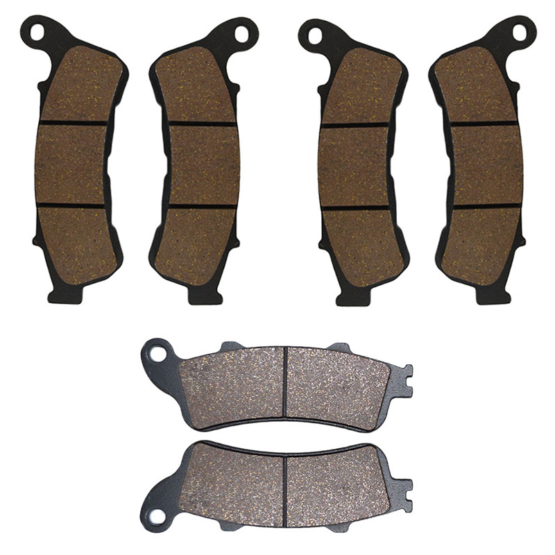 Motorcycle Parts Front & Rear Brake Pads Kit For HONDA VFR800 Interceptor 2006-2012 ST1300A 2008-2012 Brake Disk motorcycle parts front