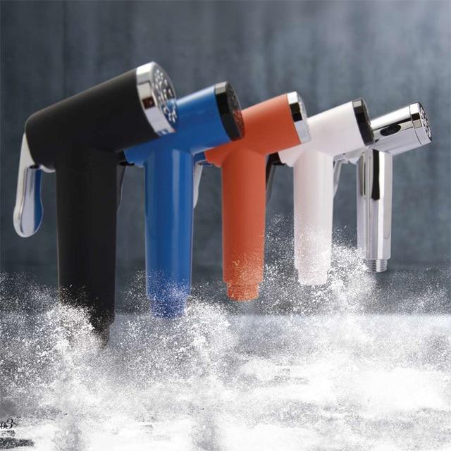Plastic Portable Hand Held Bidet Toilet WC Muslim Shattaf Spray ...