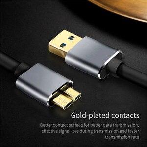 Image 2 - Кабель USB 3,0 Type A для Micro B, кабель для передачи данных 0,5 м, 1 м, 1,5 м, Удлинительный кабель HDD, код для внешнего жесткого диска, HDD для Samsung