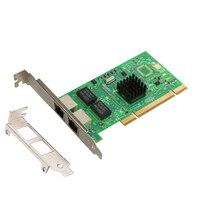 Intel82546 chipest הכפול 8492MT RJ45 יציאות PCI Gigabit שרת רשת כרטיס