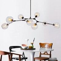 Minimalist Vintage Loft Industrial Pendant Lights Black Or Gold Bar Stair Dining Room Iron Glass Retro