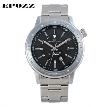 цена на Brand EPOZZ Luxury New arrival Especial Numbers Signet for unique Stainless Steel men fashion quartz watches men limited Edition