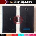Em estoque! ultra-fino telefone coldre caso de couro da aleta para fly iq4415 quad era style 3 botão magnético minimalista protetora cobrir