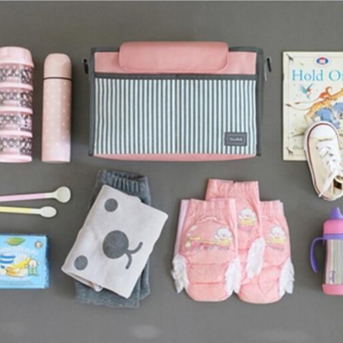 HTB1sZDGesj B1NjSZFHq6yDWpXal Fashion Multifunctional Mummy Bag Baby Diaper Nappy Pram Stroller Hanging Bag