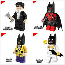 11.11 Four Modeling Batman Character Comic Cartoon Movable ABS Mini Doll Baby Dolls Action Figure Toys Kids Gift Toys Boys Girls(China)