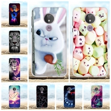 For Motorola Moto G7 Power Cover Soft TPU Silicone Case Cartoon Patterned Coque Bag