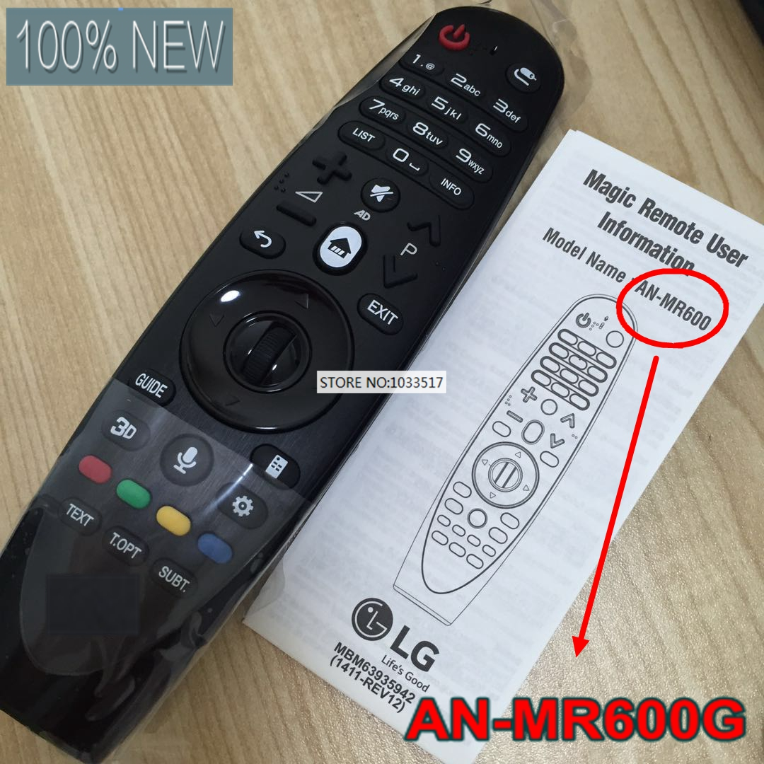 NEW AN-MR600G (ANMR600) Magic Remote Control FOR LG 3D Smart TV new an mr600g anmr600 magic remote control for lg 3d smart tv