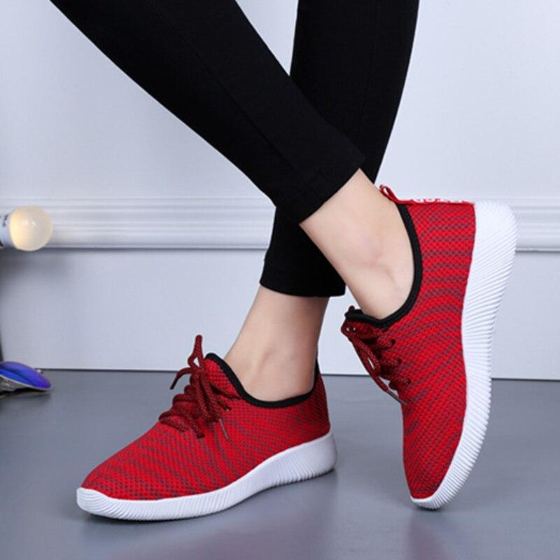 2018 Fashion Women Canvas Shoes New Breathable Wear-Resistant Ladies Casual Shoes Leisure Women Sneaker Footwear CBT998