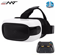 2016 All In One VR Glasses 3D Glasses 360 Degree Virtual Reality Support 3D Movie Games