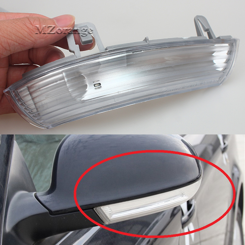 For Volkswagen VW Passat B6 Variant 3C5 2005/06/07/08/09/10/11 Led Car Styling Side Mirror With Indicator Turn Signals Lights car styling 13pcs excellent canbus led bulb interior dome map light kit package for volkswagen vw passat b6 2006 2010
