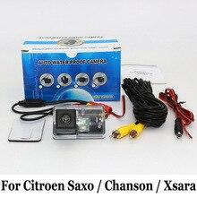 Автомобильная Камера Заднего вида Для Citroen Saxo/Шансон/Xsara/CCD HD Широкоугольный Объектив Авто Обратный Парковочная Камера/Автомобиль для укладки NTSC