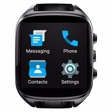 (HEIßER VERKAUF!) X01S Smart uhr Android 5.1 1,54 zoll 3G Smartwatch Telefon MTK6572 1,3 GHz Dual Core Wasserdichte GPS Schwerkraft Schrittzähler