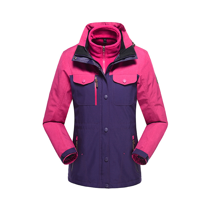 2015 Outdoor Breathable Sports Jacket Climbing Hiking/Camping Waterproof Jackets Winter Thermal Jacket for men and women  winter jackets thermal thicken jacket outdoor sports ski jackets camping coat waterproof windproof climbing jacket for mans