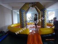 ausement sports inflatable play games,Funny Durable 0.55mm PVC tarpaulin inflatable sport game,inflatable fun sports