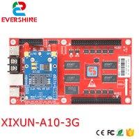 Xixun A10 Беспроводной 3G светодиодный карты контроллера для P10 сообщение знак подходит для глобальной Применение