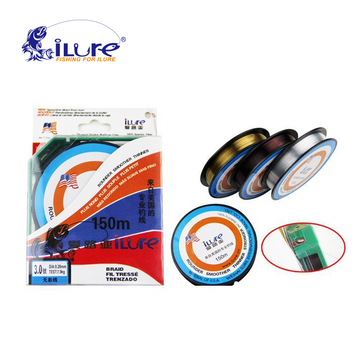 Buy free shopping 150m ilure brand top for Best fluorocarbon fishing line